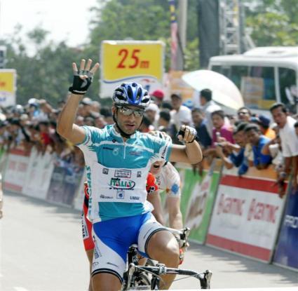 Le Tour de Langkawi 2007 Alberto Loddo Stage 5
