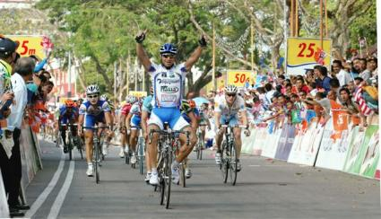 Le Tour de Langkawi 2007 Alberto Loddo Stage 4