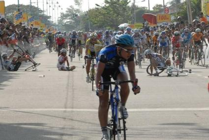 Le Tour de Langkawi 2008 Stage 1 crash