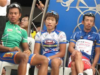 Le Tour de Langkawi 2008, Anuar Manan , Lee Won-Jae , Shinichi Fukushima