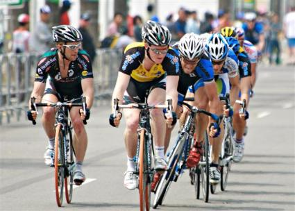 Race Leader JOHN MURPHY (USA) Healthnet - Wins Intermediate Sprint Bonus