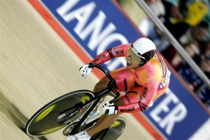 Malaysian rider Josiah Ng in Men Sprint