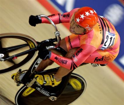 Malaysian rider Awang in Men Sprint