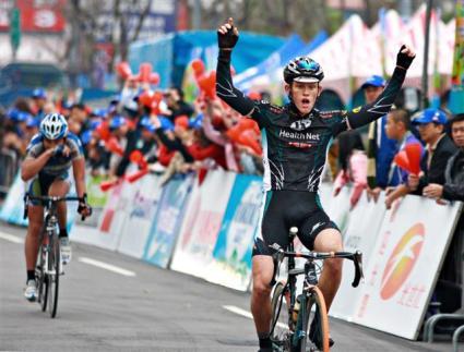 Tour de Taiwan 2008 Kyle Gritters