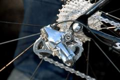 Shimano Electronic Gear Shifters used in Tour of California 2008 by Wegmann's Gerolsteiner