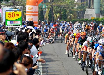 Tour de Taiwan 2008 Stage 1 crash